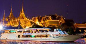 Dinner Cruise di sungai Chao Phraya