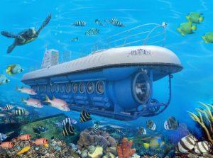 Whale Sub Marine