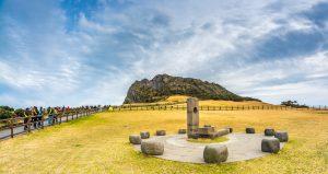 3. Seongsan Ilchul-bong Peak in Jeju Island