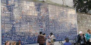 Dinding cinta di Mountmartre