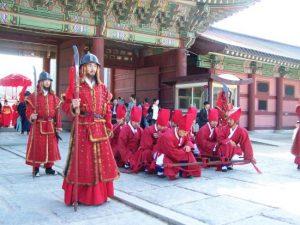 Upacara Pergantian Penjaga Istana