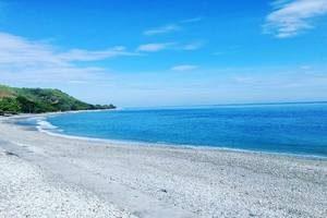 Wisata di Pantai Maubara