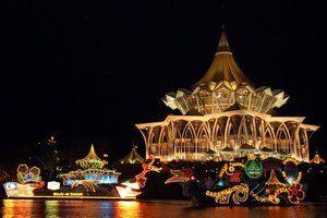 Wisata di kota Kuching