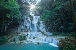 Wisata di kotaNong Khiaw