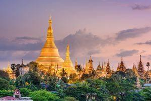 Wisata di kota Yangon