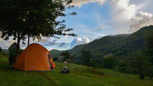 area perkemahan di taman nasional doi inthanon