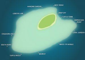 peta pulau sipadan