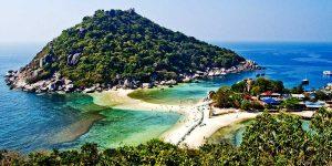 pulau ko pha ngan dari kejauhan