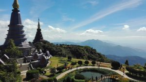 stupa di taman nasional doi inthanon