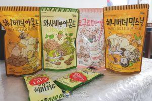 almond dan kacang tanah
