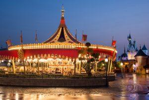 carousel di hong kong disneyland