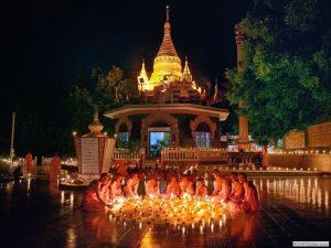 festival thadingyut di pagoda shwedagon