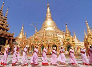 perayaan 2600 tahun pagoda shwedagon