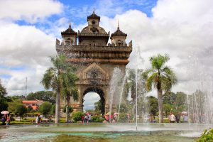 Patuxai-Victory-Monument-in-Vientiane