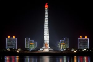 Juche Tower By Might