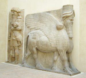 Patung Singa Assyria