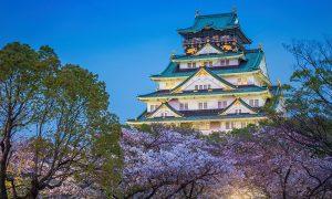 Taman-Kastil-Osaka-Osaka