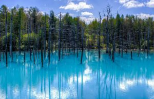 Blue Lake Furano