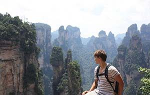 Hindari Solo Backpacker ke Zhangjiajie