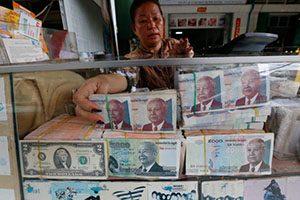 Transaksi di Phnom Penh