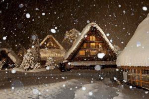 Winter-Lighting-Up-Shirakawago-2017