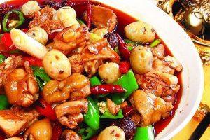 xinjian style braised chicken