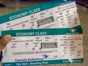 Siapkan tiket pesawat