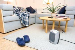 Penginapan dengan pemanas ruangan