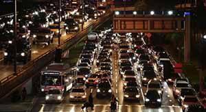 Kemacetan di Los Angeles