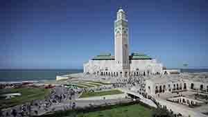 Masjid Hasan II, Maroko