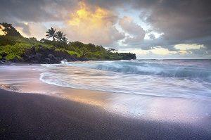 Pailoa-Black-Sand-Beach