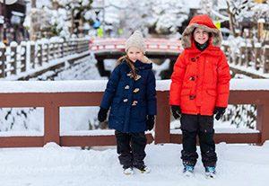 Pakaian saat Musim Dingin di Jepang