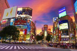 Shibuya pedestrian
