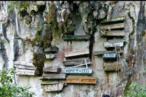 Hanging-coffin