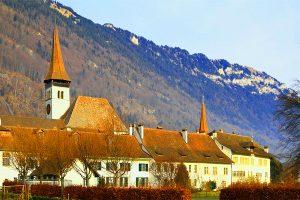Interlaken Monastery and Castle