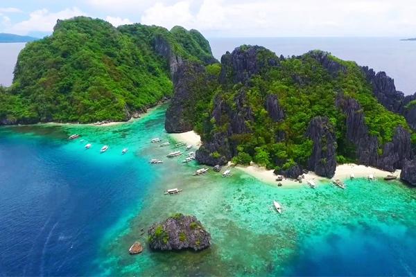 Wisata alam di filipina