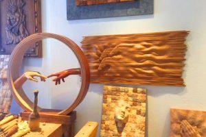 Wooden Art Pieces