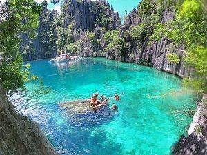 Pulau coron tempat wisata di pulau palawan