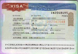 Mengurus visa