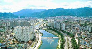 gunung di daegu