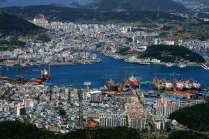 tongyeong pelabuhan
