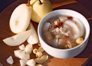 Sea Coconut & White Fungus Sweet Soup
