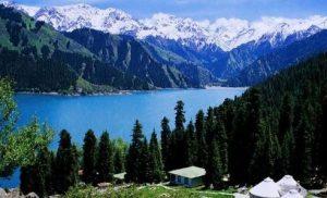 Tian-chi-lake