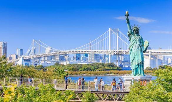 11 Tempat Wisata di Odaiba Jepang Terpopuler Dikunjungi