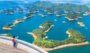 Qindao lake