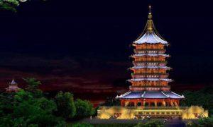 six harmony pagoda