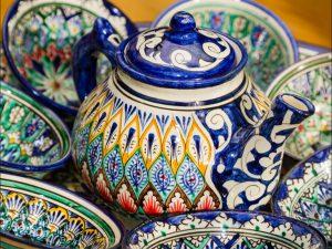 Keramik Khas Uzbekistan