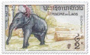 Perangko Negara Laos
