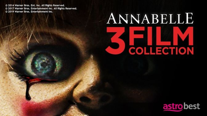 Annabelle 3-Movie Collection