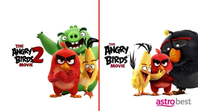 The Angry Birds Movie 1 & 2